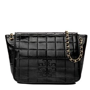 Tory Burch Marion Patent Shoulder / Crossbody Bag